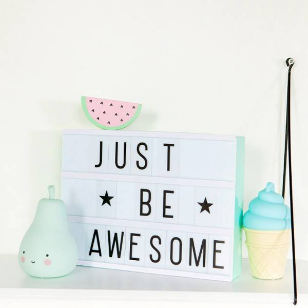 little-lovely-company-lightbox-a4-mint